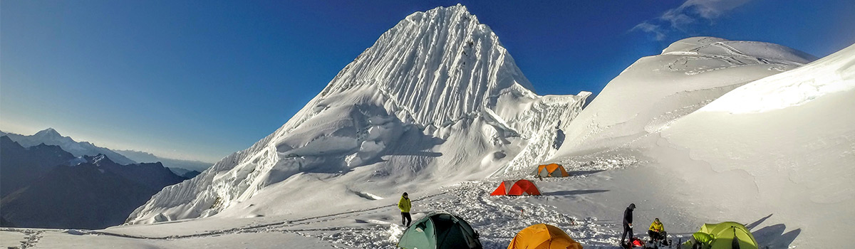 Peru Expeditions Tours: Expedition Nevado Alpamayo (5947 m), the most beautiful mountain in the world