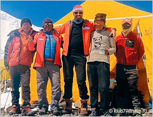 Asia: Expedition to Mount Everest from Tibet (8848m)
