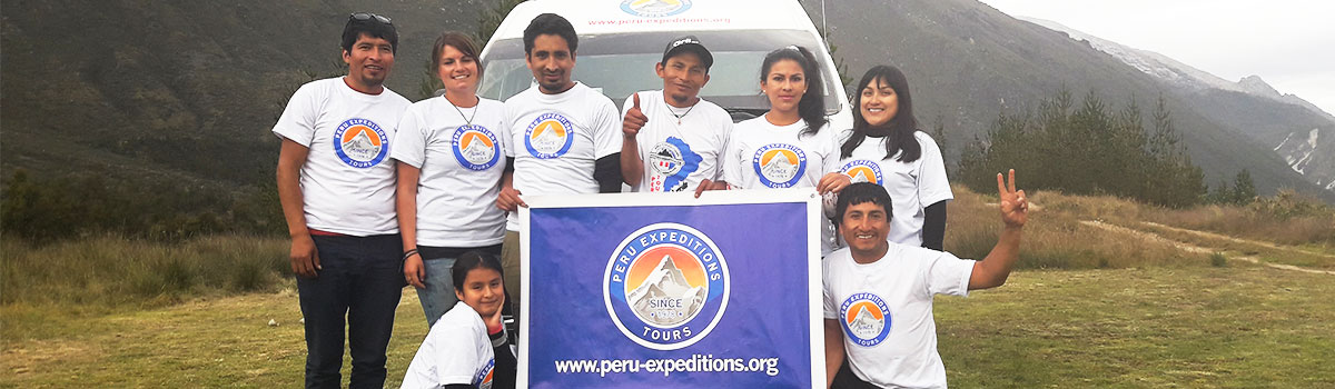 Peru Expeditions Tours Team in Huaraz, Travel Adventure Agency