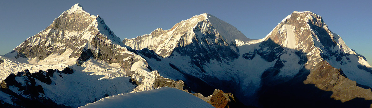 Peru Expeditions Tours: Expedition Nevados Yanapaccha (5450 m), Pisco (5752 m) & Chopicalqui (6354 m)