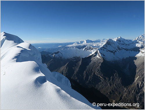 Peru: Expedition Nevado Alpamayo (5947 m), the most beautiful mountain in the world
