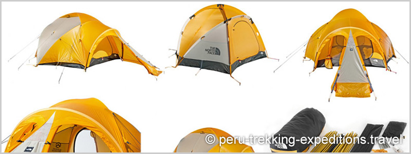 The tents North Face VE24 or VE25  sc 1 st  Peru Expeditions & The Vaude mountain tents u0026 The North Face VE 25 in Huaraz Peru