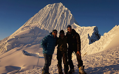 Expeditions in the Cordillera Blanca and Cordillera Huayhuash, Peru