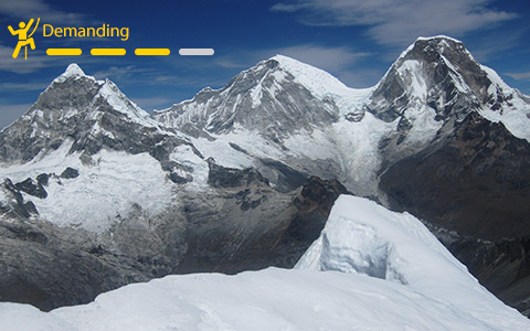 Expeditions over 6000m in Peru