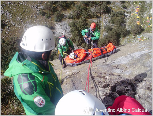 XXXII Mountain Rescue and Security Course - 2016